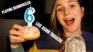 6 Year ASMR Anniversary Live Triggers