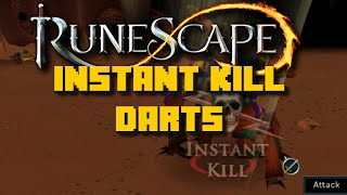 Runescape: Using 9x Instant Kill Darts on Kalphite King - Deathtouched Darts - iAm Naveed