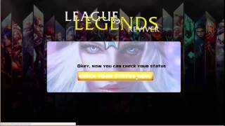 How to Instantly Boost Elo at League of Legends - Get to Diamond for free(In this video i will show you how can you get to Diamond, free and easy using www.hackersage.com/leaguereviver . All you need to do is to enter on League ..., 2015-06-22T15:00:13.000Z)