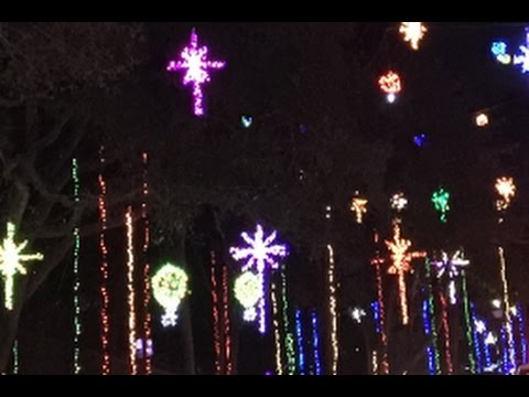 blackhawk bluff christmas lights 2016 jacksonville fl youtube