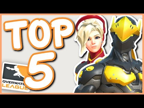 Overwatch - TOP 5 OVERWATCH LEAGUE SKINS