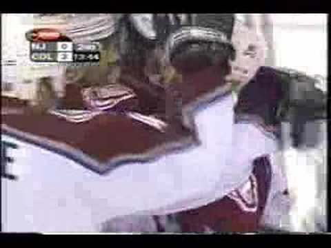Colorado Avalanche 2001 Stanley Cup Final Game 7