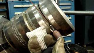 Tig Welding Pipe 6g Certification Test Techniques(http://www.weldingtipsandtricks.com/tig-welding-certification-tips.html Technique for Tig Welding pipe in 6g position using a Tig Finger heat shield and slightly ..., 2010-12-27T02:38:32.000Z)