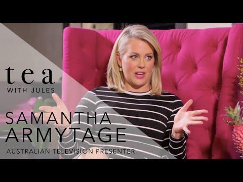 Tea with Jules - Jules Sebastian chats to Sunrise co-host Samantha Armytage