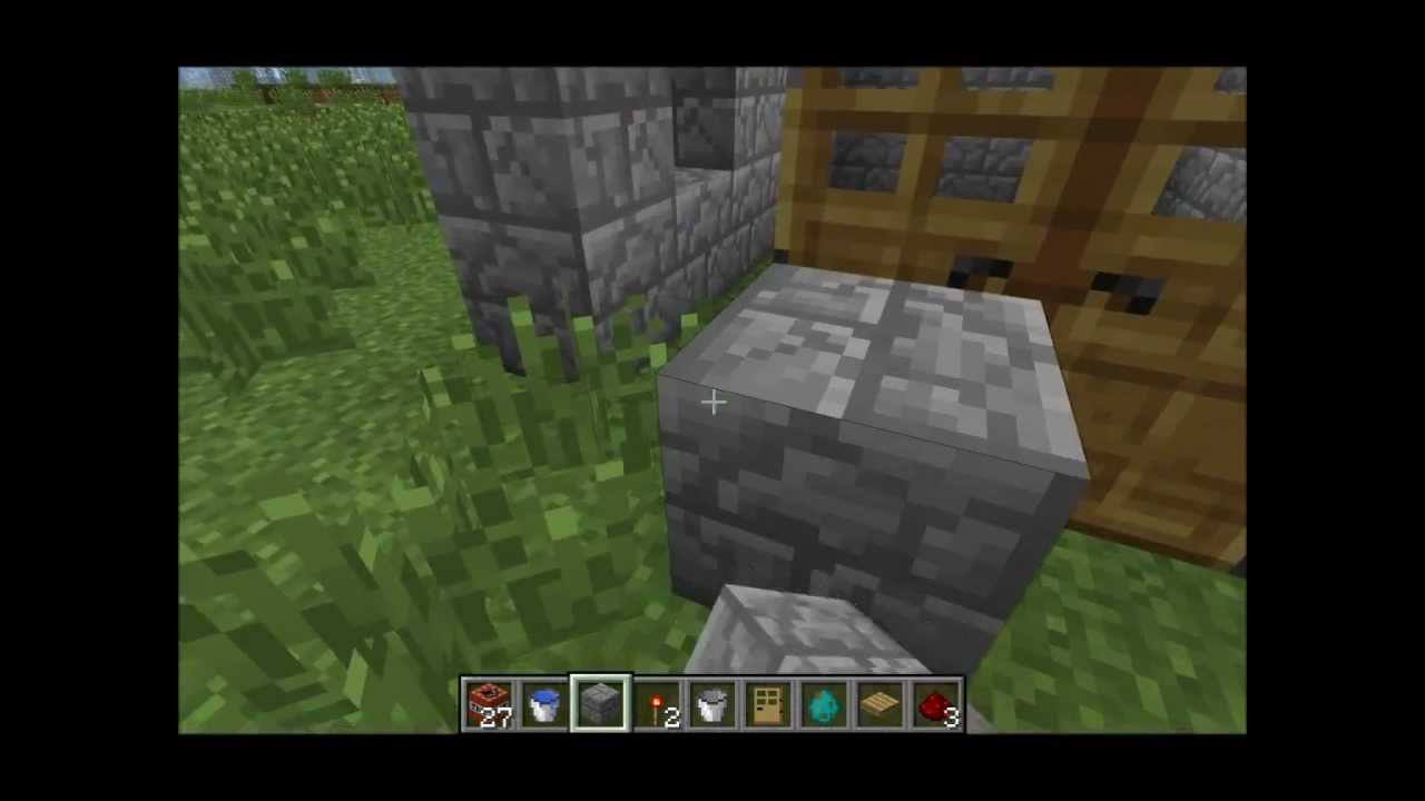 Minecraft  How To Build A Trap House