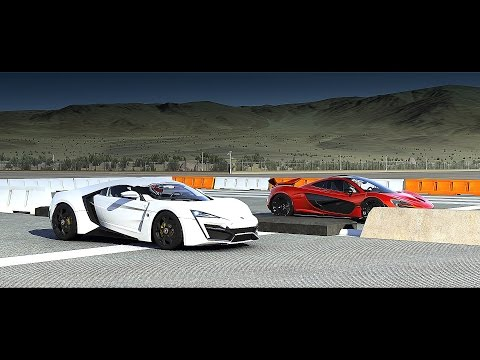 Forza 6: Lykan HYPERSPORT vs. McLaren P1 | Drag Race