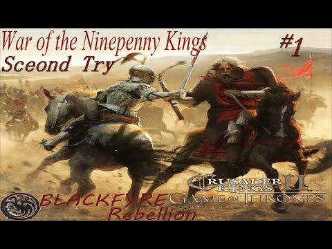 Ck2:  Game Of Thrones Mod V2.1: War Of The Ninepenny Kings Try 2 #1