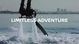 Nissan Super Safari presents Limitless Adventure with Sherif Fayed (Flyboarding)