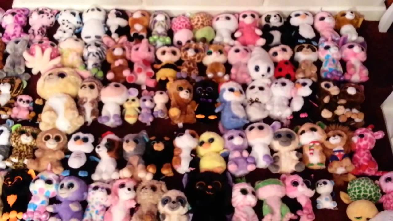 aee2fa04606 160+ BEANIE BOOS COLLECTION VID!!! 1 Year YouTube Anniversary!! - YouTube