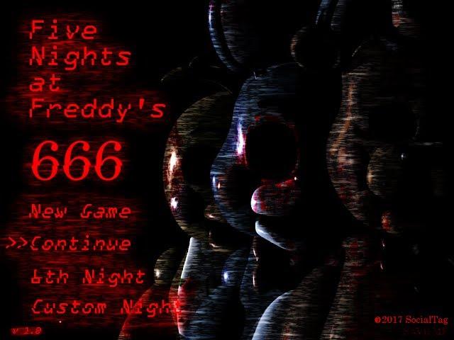 [FNAF | Speed Edit] Making FNAF 666 Title Screen!