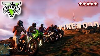 GTA Los Santos BIKER THUGS!!! - Riding & Killing with the Crew GTA V - GTA 5 BIKES