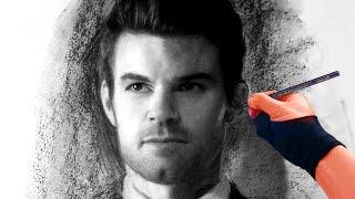 Drawing Elijah from the Originals - Art Video