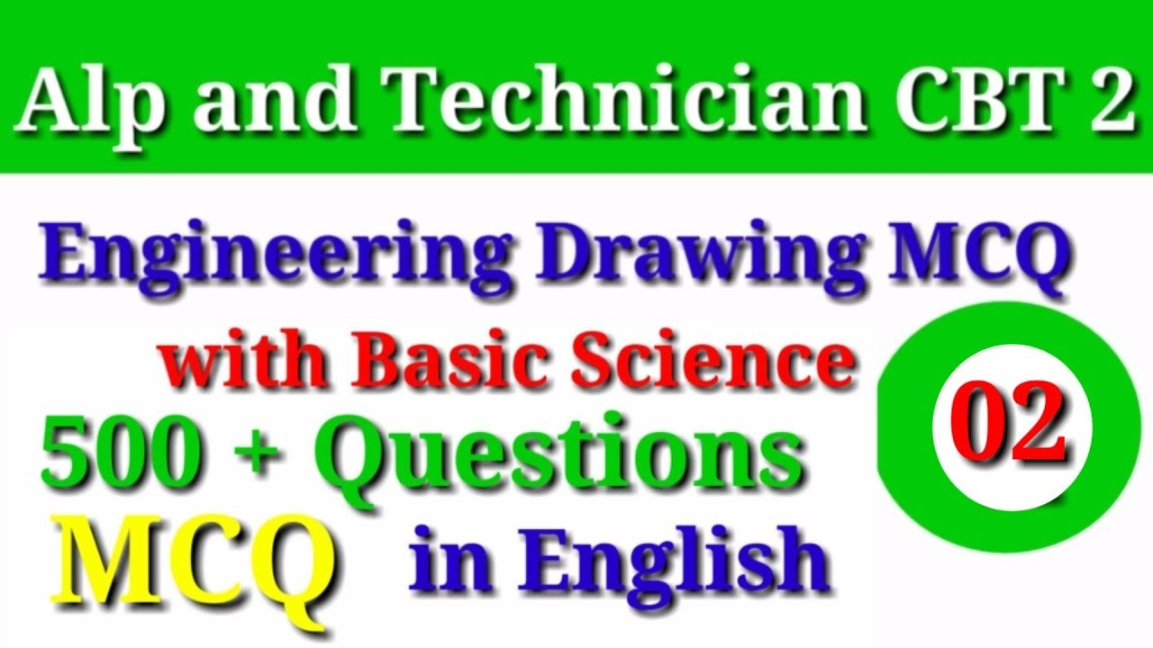Repeat Engineering Drawing MCQ with Basic Science And