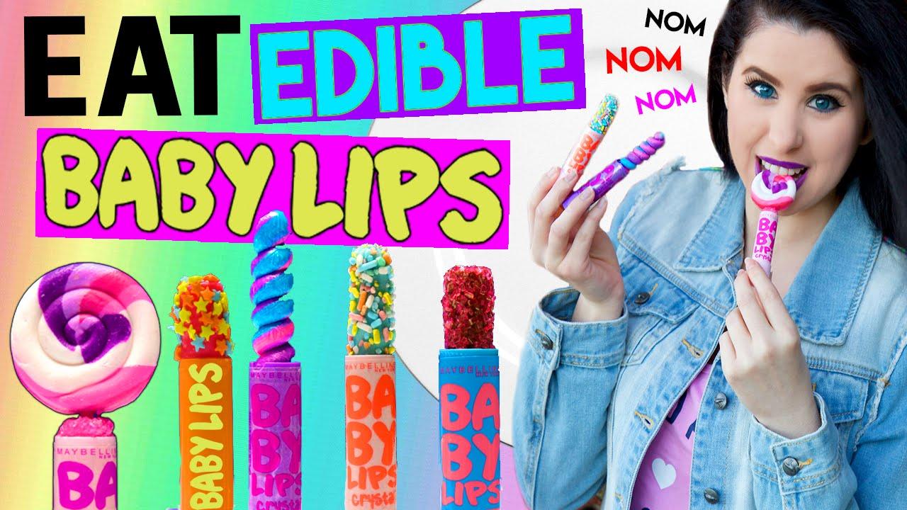 DIY Edible Baby Lips! | EAT Baby Lips! | How To Make The ...