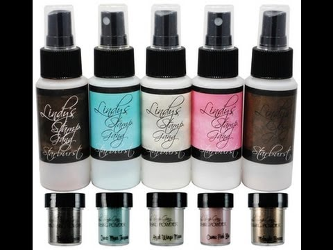 Product Review - Lindy's Stamp Gang Sweet Treats Mists & EP Set