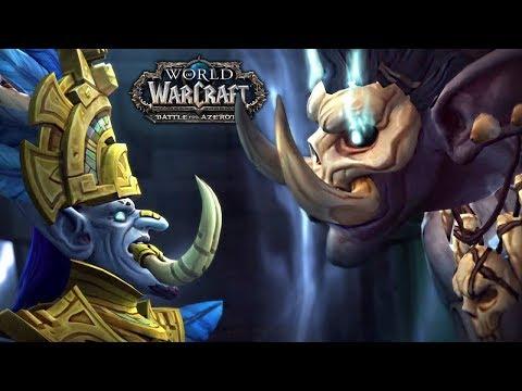 WOW Battle For Azeroth   CAP 7 HORDA   Traicionan al Rey Rastakhan!!