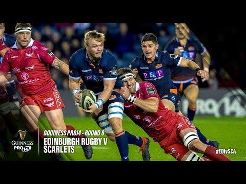 Guinness PRO14 Round 8 Highlights: Edinburgh Rugby v Scarlets