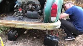 1972 Volkswagen Karmann Ghia Restoration - Will it run??? Resurrection Restoration!!!