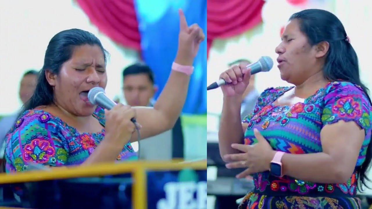 Solista Martina Osorio Cadena De Coros Y Su Grupo Vida Nueva 26 De Septiembre de 2021