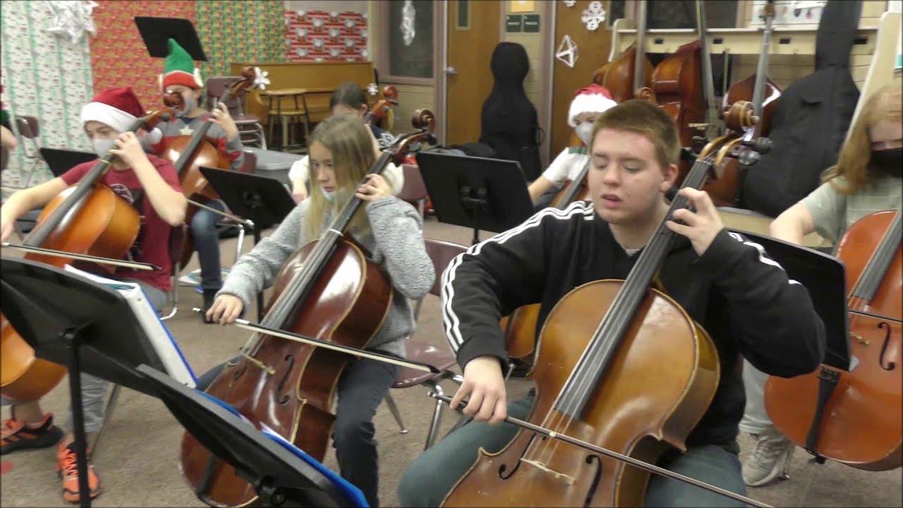 Spanish Fork Junior High Orchestra Christmas Concert 2021 Diamond Fork Junior High School Page 3