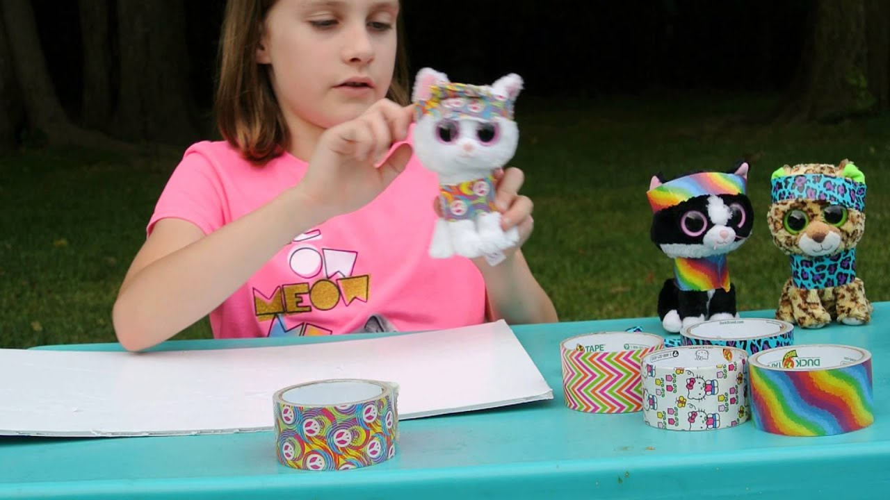 More cool and easy duct tape crafts youtube for Awesome crafts to do at home
