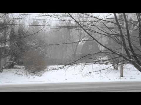 Snowfall in Cranston