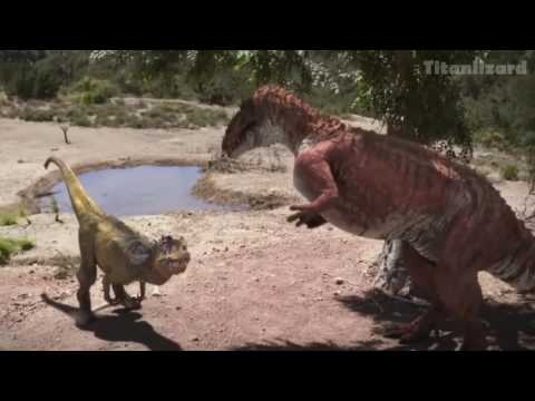 ALLOSAURUS VS TORVOSAURUS - ONII CHAN (parody)