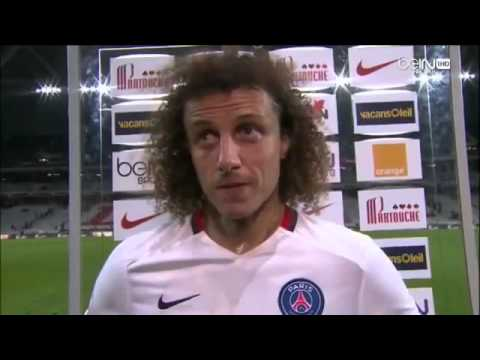 David Luiz:  after match Lille x PSG