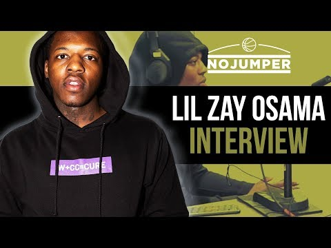 Lil Zay Osama on Robbing Video Guys & Doing 12 Million Views In A Month