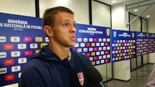 Nemanja Maksimović posle meča Lige nacija protiv selekcije Rumunije