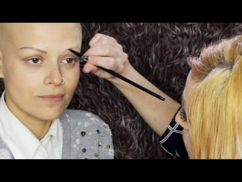 Eyebrow Makeup Guidelines for People with NO Brows // with Charlene