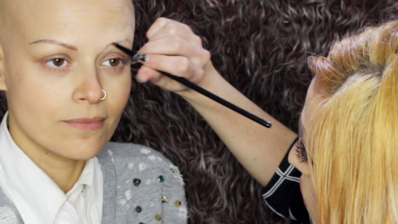 Eyebrow Makeup Guidelines for People with NO Brows // with Charlene - YouTube