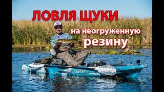 20 щук на неогруженную резину за одну рыбалку. Результативные проводки и секреты ловли на мелководье