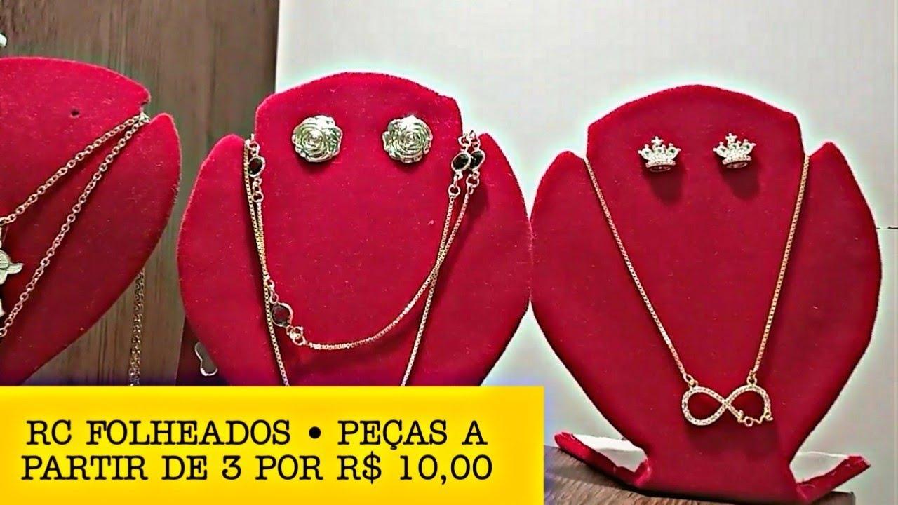 BRÁS • RC FOLHEADOS • A PARTIR DE 3 POR R$ 10,00 • A LOJA DO TAPETE VERMELHO - FOLHEADOS