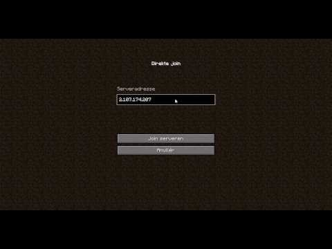 Minecraft server IP danish - YouTube