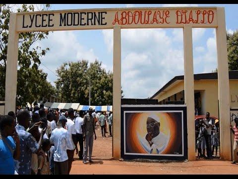 Moderne Le education le lycée moderne de djékanou baptisé lycée moderne