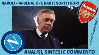 NAPOLI-ARSENAL 0-1: È FINITO TUTTO
