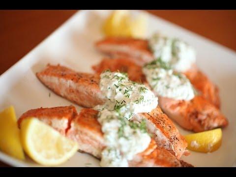 Greek Yogurt Salmon Recipe | Kin Community