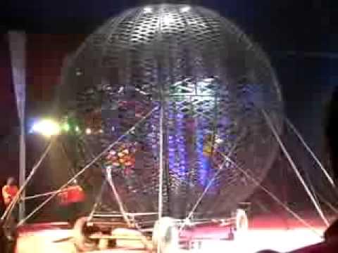 Stefani Art Agency present Globe of death - 5 , Columbia