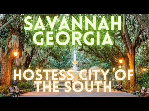 Savannah Georgia Virtual Travel Tour 4K
