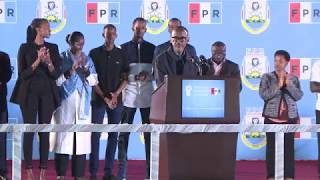 Acceptance Speech of President-elect Paul Kagame | Kigali, 5 August 2017