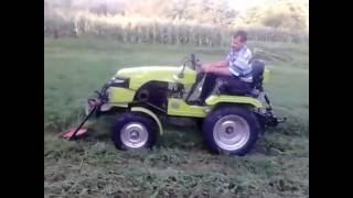 Чудо-трактор на базе мотоблока