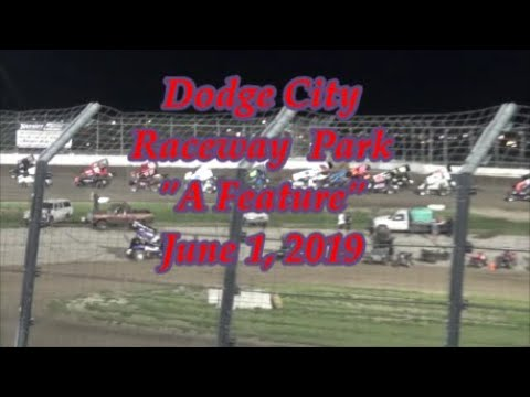 Steven Richardson's A Feature  / Dodge City Raceway Park / June 1, 2019