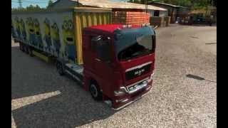 Euro Truck Simulator 2 - Minions (trailer mod/download)HD