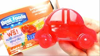 DIY Jelly Car by BEST FOOD Thailand