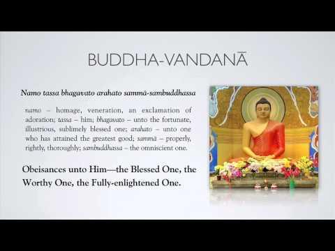 Paritta 1: Buddha vandana 1
