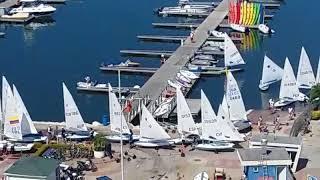 Evento deportivo de Vela en la Marina- Bahía Bolivariana