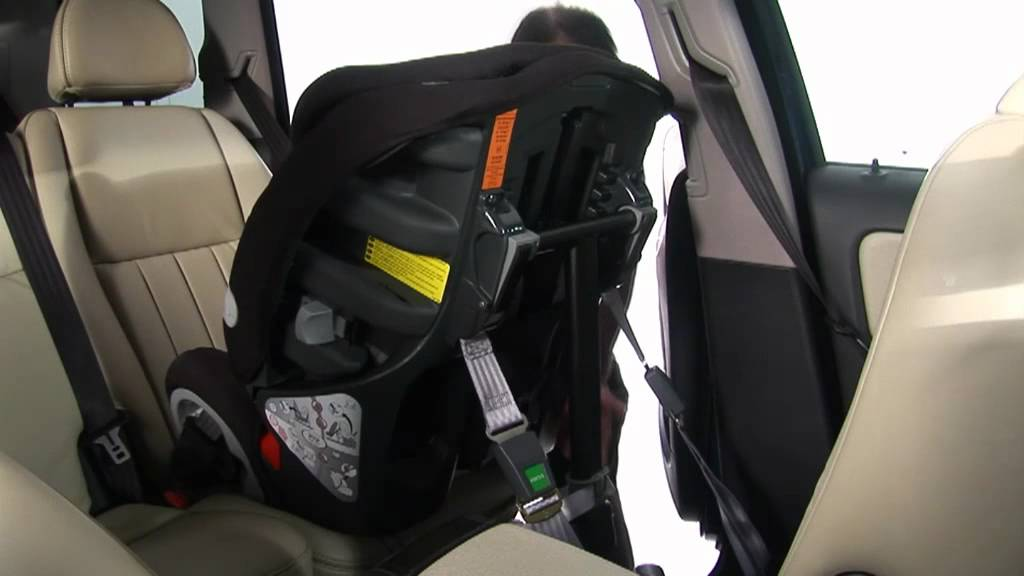 bakåtvänd bilbarnstol isofix