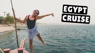 DUST STORM & CROCODILES! Nile River Cruise Day 5