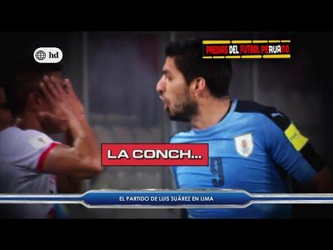 El Partido de Luis Suarez Contra Perú a Ras de Campo [Eliminatorias Sudamericanas Rusia 2018]